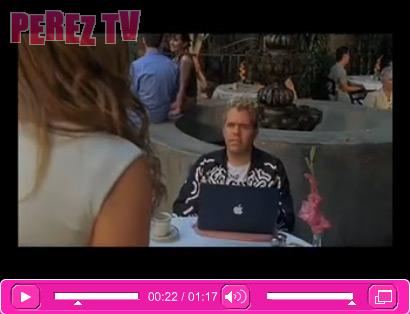 Mac é Pop Perez Hilton