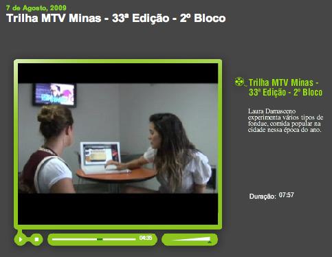 Mac é Pop MTV Trilhas Minas