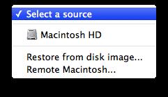 Estas são as opções de backup do CC Cloner
