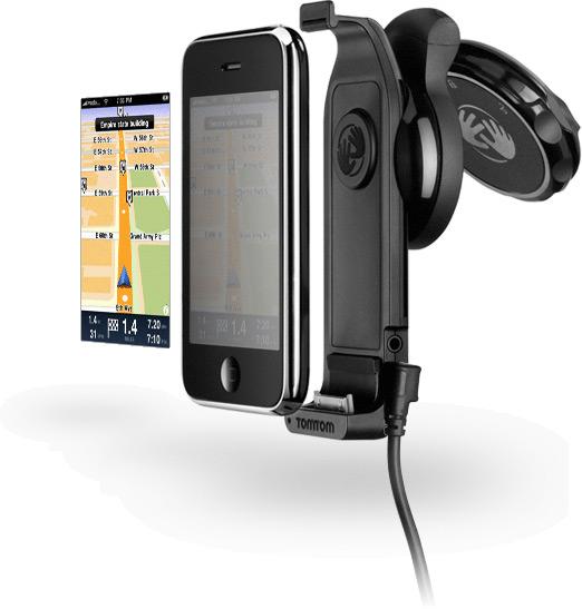 TomTom GPS Car Kit para o iPhone