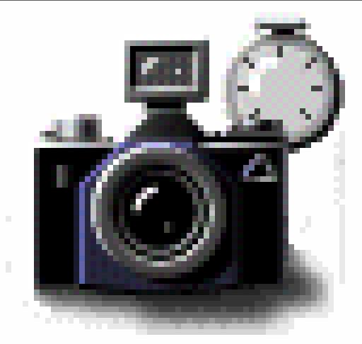 Ícone de câmera do Next