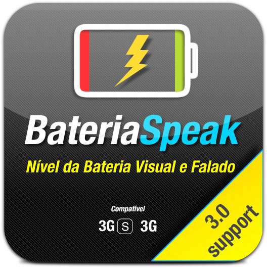 Ícone do BateriaSpeak