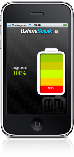 BateriaSpeak no iPhone