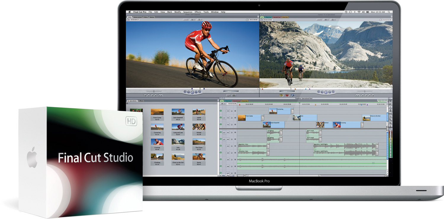 MacBook Pro e Final Cut Studio