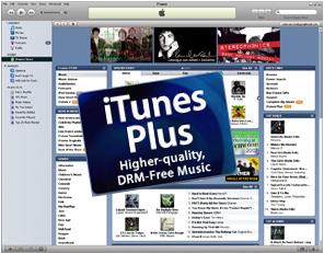 iTunes Plus sem DRM