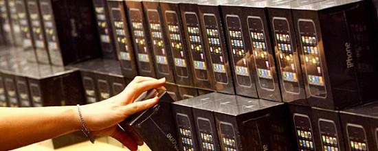 Caixas iPhones