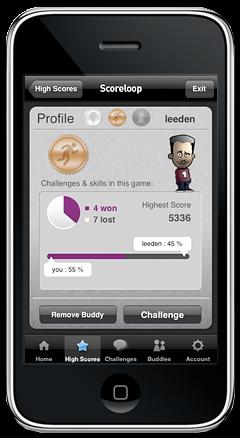 Scoreloop no iPhone