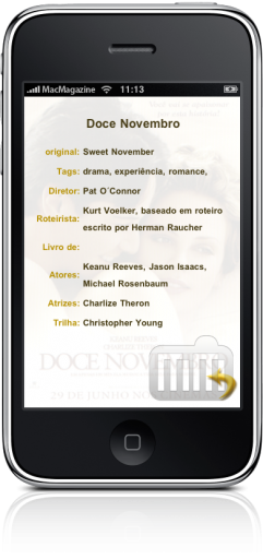 CineDica - TV no iPhone