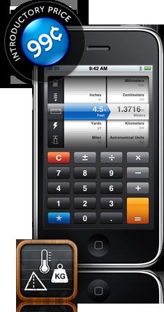 Convert, da tap tap tap, para iPhone