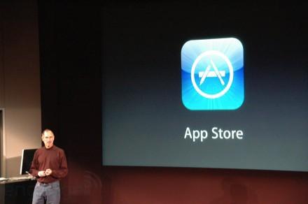Steve Jobs e iPhone App Store