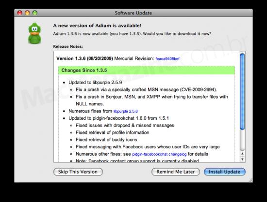 Adium 1.3.6
