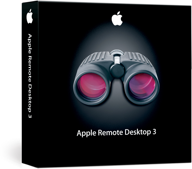 Caixa do Apple Remote Desktop