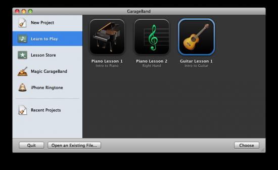 GarageBand '09 - Learn to Play