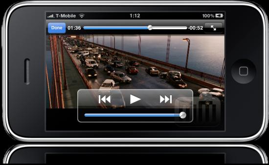 iPhone 3GS com 1080p