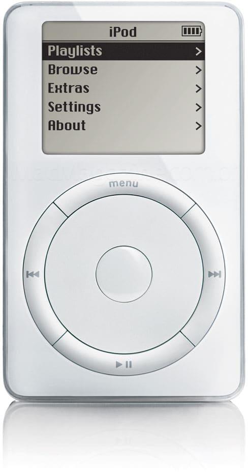 iPod de primeira geração (1G)