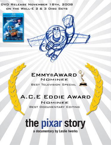 Capa do The Pixar Story