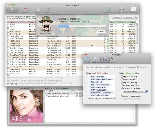 Screenshot do Song Sergeant