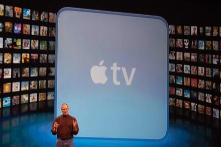 Steve Jobs e Apple TV