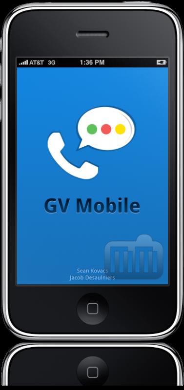 Google Voice (GV) Mobile no iPhone