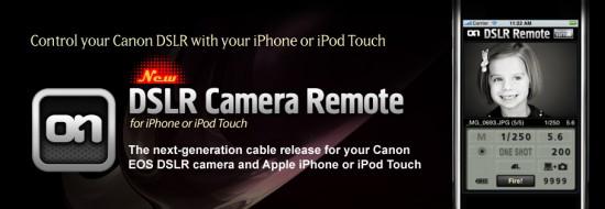 DSLR Camera Remote para iPhone