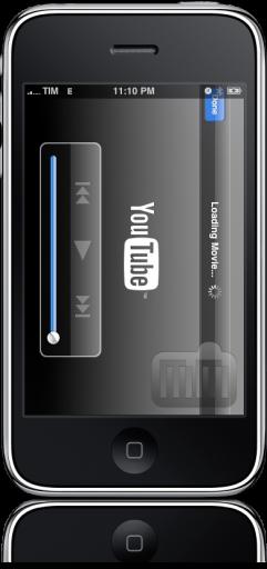 iPhone FAIL barra do topo YouTube