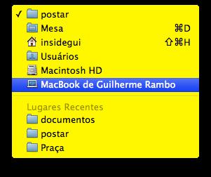 Mac FAIL amarelo
