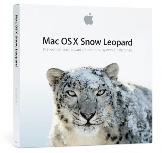 Caixa do Mac OS X 10.6 Snow Leopard