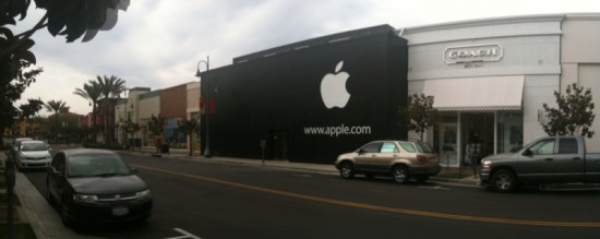 Loja da Apple, em construção em Temecula