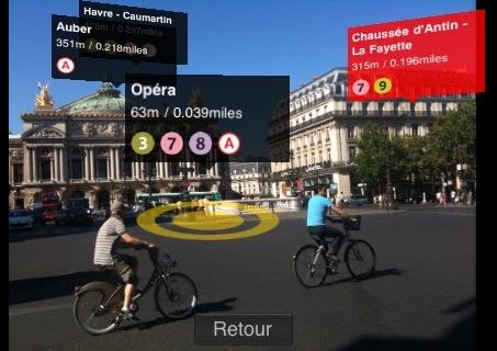 Metro Paris Subway - Realidade Aumentada