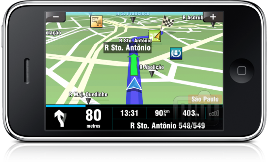 Sygic Mobile Maps Brazil no iPhone