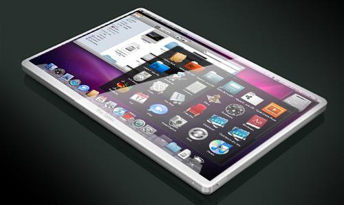 Mockup de Apple tablet