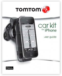 Manual do TomTom iPhone Car Kit