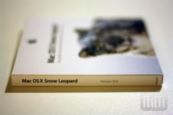 Unboxing do Mac OS X 10.6 Snow Leopard