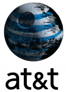 AT&T como a Estrela da Morte