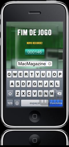 Fura Bolhas da Luftal no iPhone