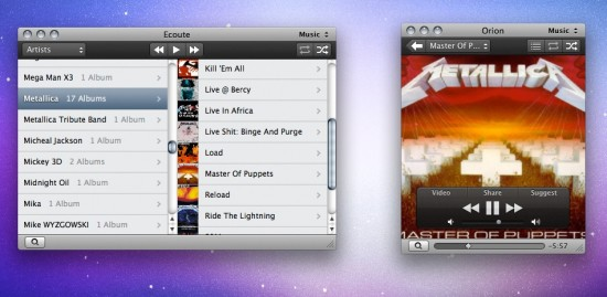 Ecoute para Mac OS X