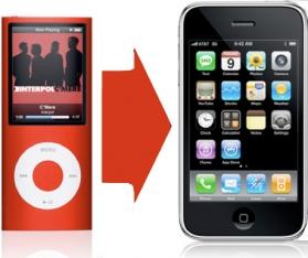 Migração de vendas do iPod para o iPhone