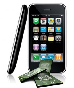 NAND flash no iPhone
