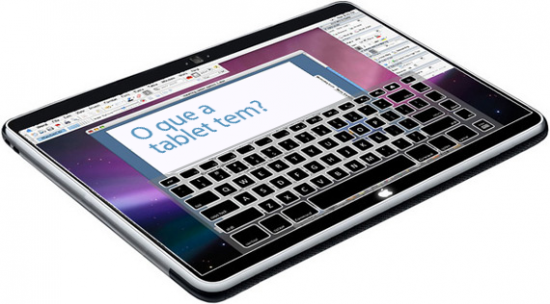 O que a tablet da Apple tem?
