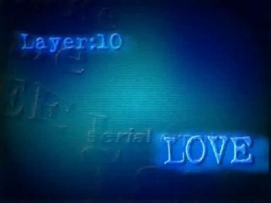 Tela de episódio da série Lain