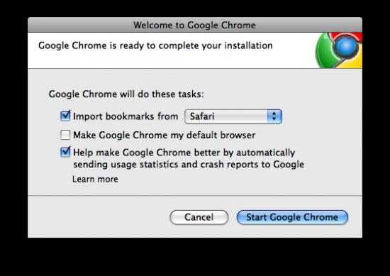 Como parte do processo de adição de recursos do Chromium, o Chrome já importa favoritos de outros navegadores normalmente