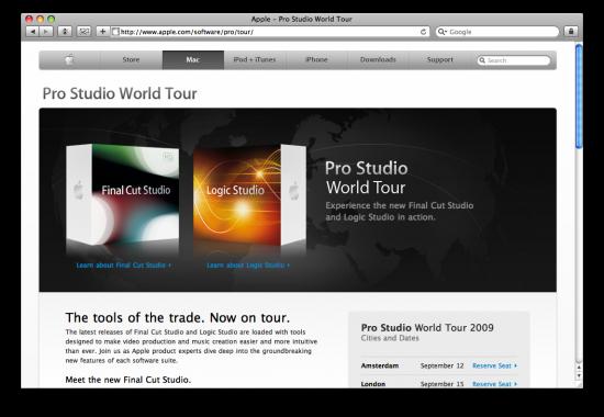 Pro Studio World Tou '09