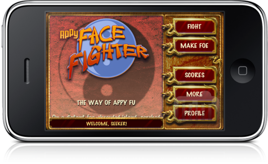 FaceFighter no iPhone