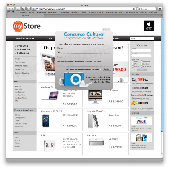 Portal MyStore