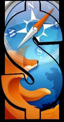 Bancos cifrão Safari e Firefox - Browsers/navegadores