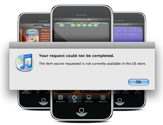 C64 removido da App Store