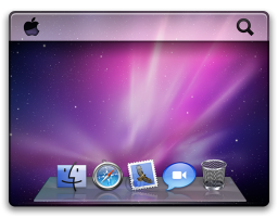 Desktop do Snow Leopard