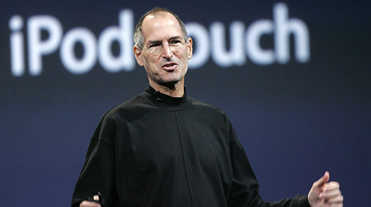 Steve Jobs e nome iPod touch
