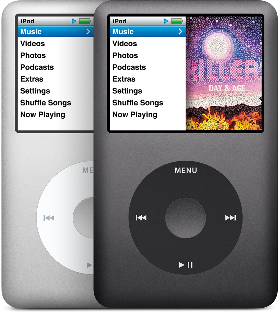 iPod classic com 160GB