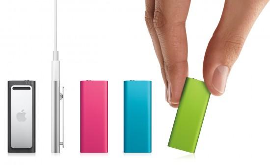 iPod shuffle 4G coloridos